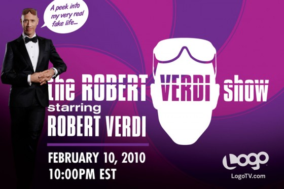 The Robert Verdi Show on Logo TV