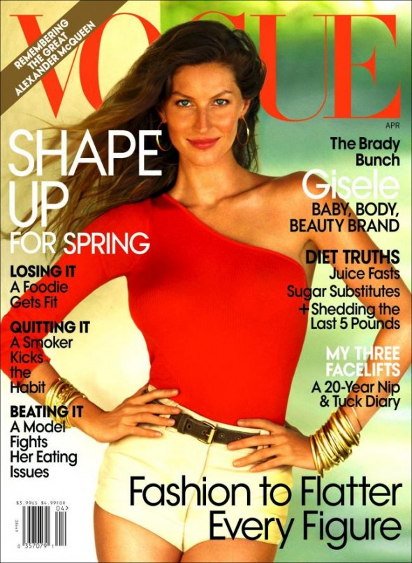 Gisele Bundchen Vogue USA April 2010