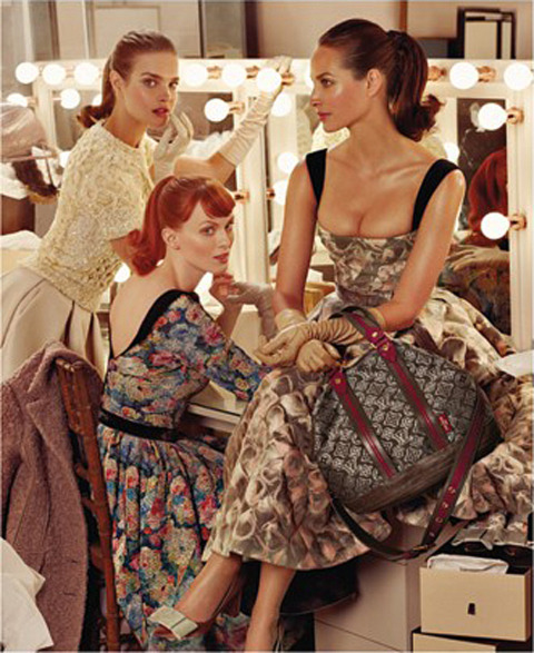 Louis Vuitton Fall 2010 Campaign by Steven Meisel