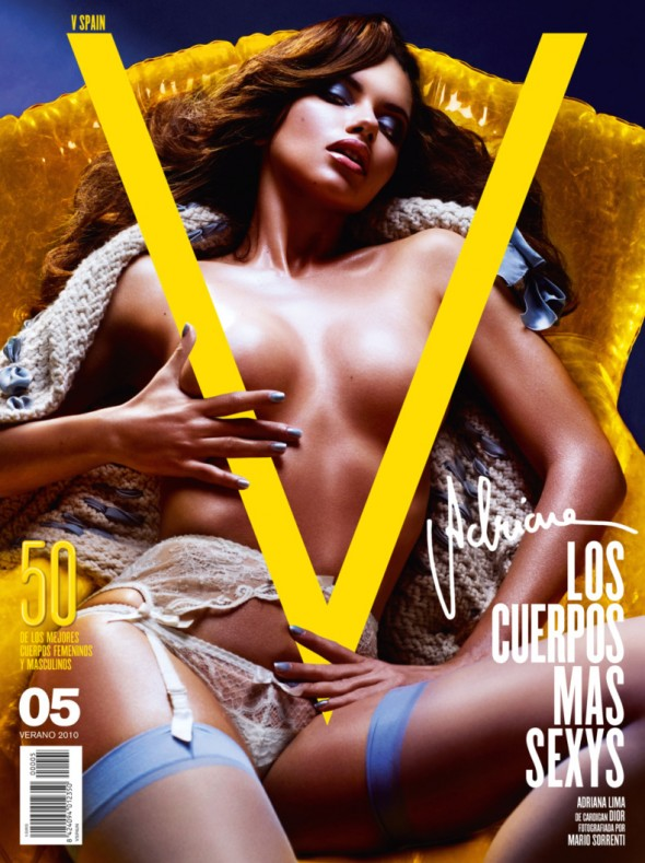 Adriana Lima for V Magazine Spain