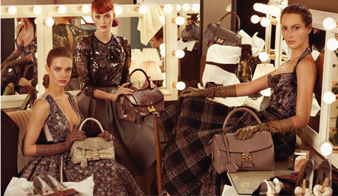 Louis Vuitton Fall 2010 by Steven Meisel