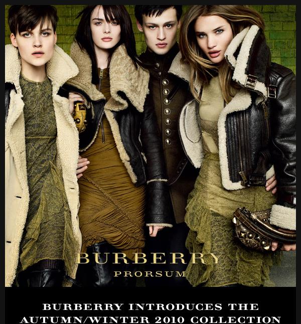 Burberry Fall 2010 Campaign Launch
