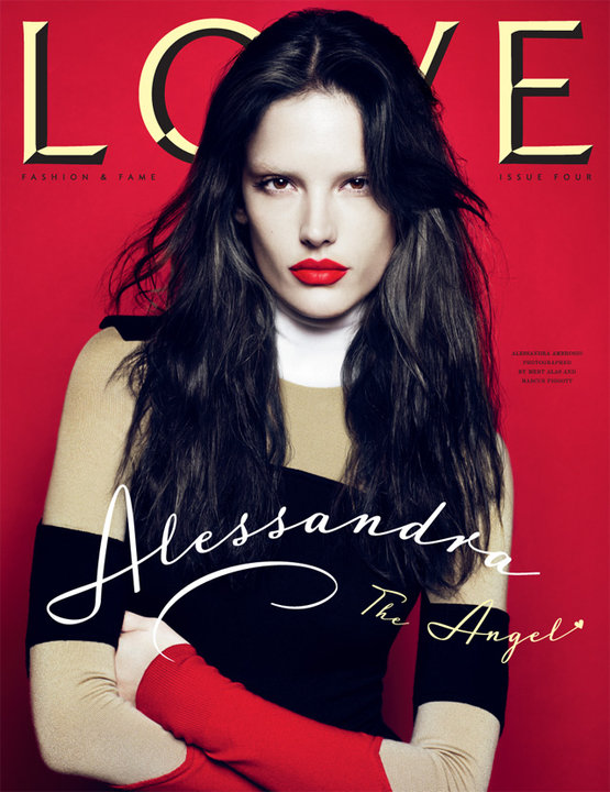 Alessandra Ambrosio - Love Magazine - Issue No 4 - September 2010
