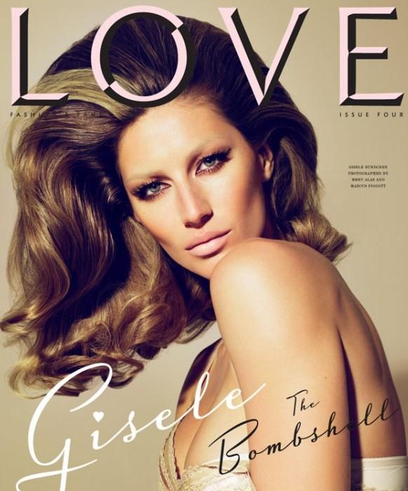 Gisele Bundchen Love Issue No 4