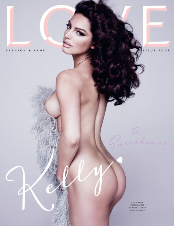 Kelly Brooke Cover Love Magazine Issue No 4