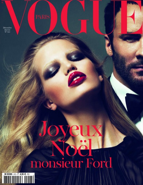 PARIS VOGUE December 2010 Tom Ford