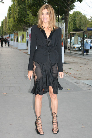 CARINE ROITFELD, PARIS VOGUE EDITOR