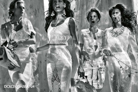 DOLCE & GABBANA SPRING 2011 CAMPAIGN