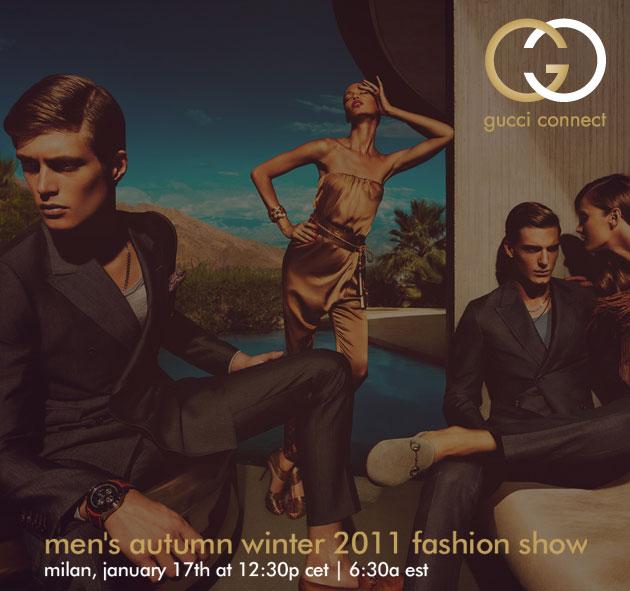 Gucci Menswear Fall 2011/12