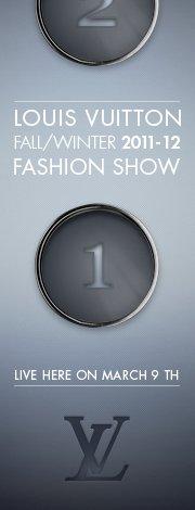 Louis Vuitton Livestream on Facebook March 9