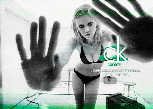 Lara Stone for Ck One