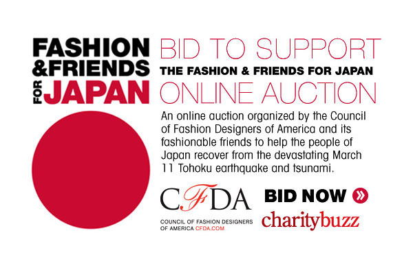 CFDA Fashion & Friends for Japan
