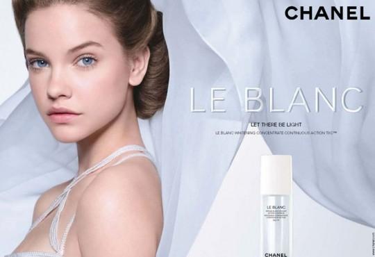 Barbara Palvin Chanel Le Blanc Campaign