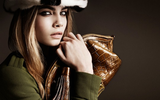 Burberry Fall 2011 Cara Delevingne