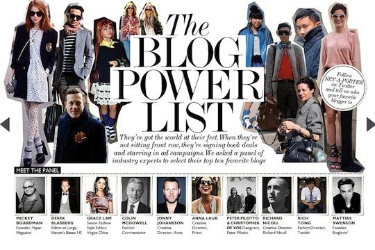 Net=A=Porter Blog Power List -cropped