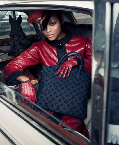 Louis Vuitton Fall 2011 Nyasha