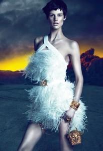 Saskia de Brauw for Versace Fall 2011