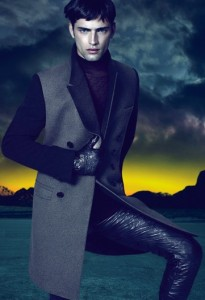 Sean o'pry for Versace Fall 2011
