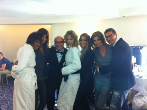 dolce and gabbana supermodels