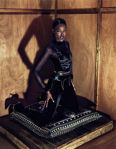 Givenchy Fall 2011 Ad Campaign Naomi Campbell
