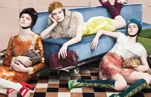 PRada Fall Winter 2011 AD Campaign