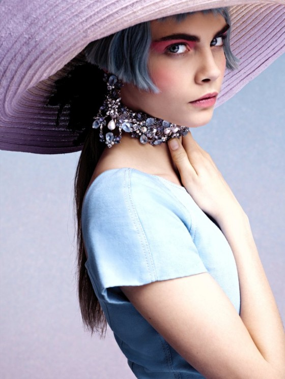 Cara Delevigne stars in Chanel Cruise 2013