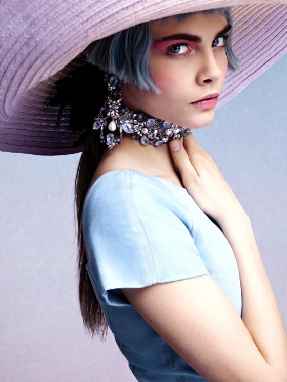 Cara Delevigne stars in Chanel Cruise 2013