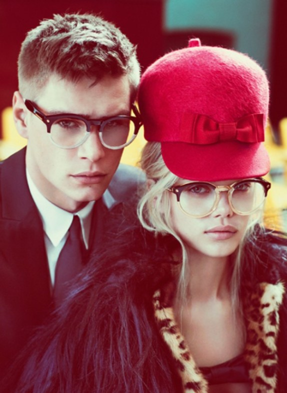DSquared-Fall-Winter-2012-Ad-Campaign-Frida Aasen