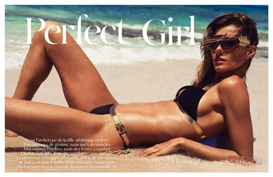 Gisele Bundchen Vogue Paris Perfect Girl June July 2012
