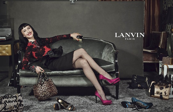 Lanvin-Fall-2012-Ad Campaign by Steven Meisel