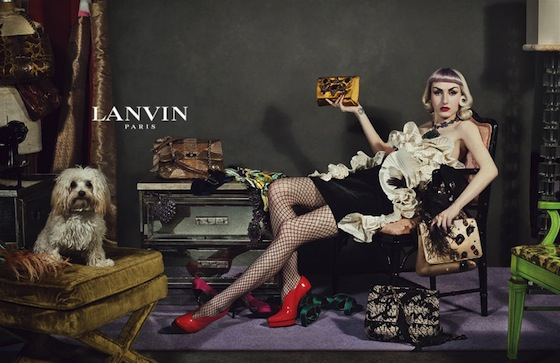 Lanvin Fall 2012 Ad Campaign by Steven Meisel