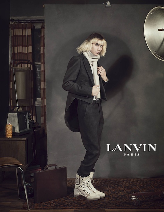 Real people are featured in Lanvin Fall 2012 Ad Campaign