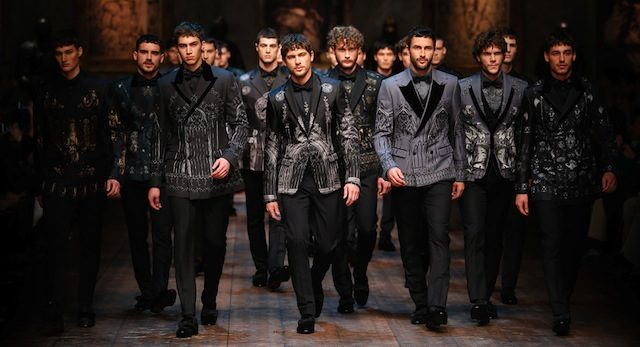 e48ff620d0 Get a first look at Dolce & Gabbana Menswear Fall Winter 2014/15 Collection  by Designers Stefano Dolce and Domenico Gabbana direct from Milan Fashion  Week.