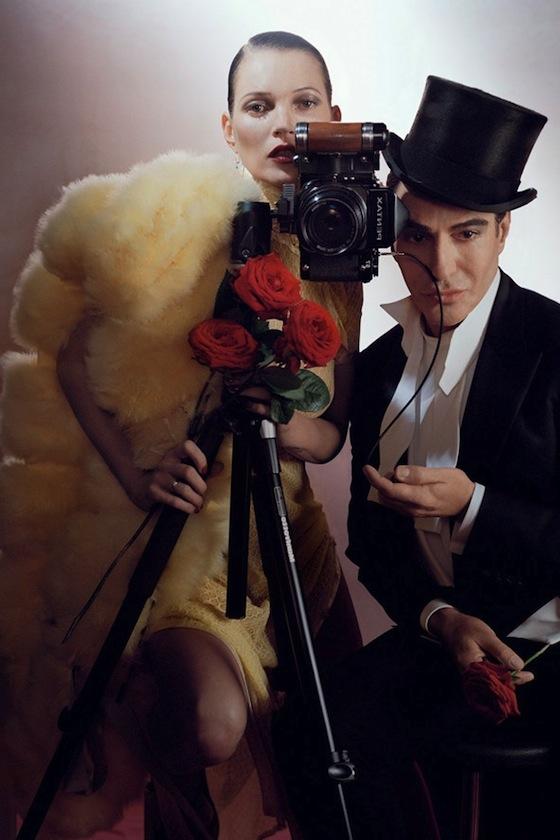 Kate Moss John Galliano British Vogue December 2013