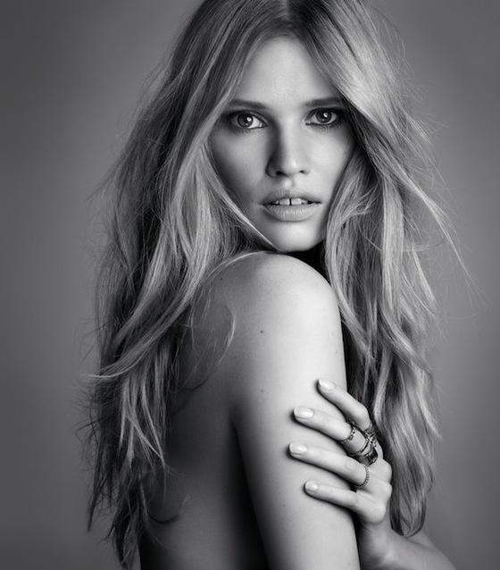 Lara Stone New Face of L'Oreal Paris