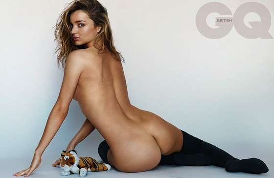Miranda Kerr Bares All British GQ