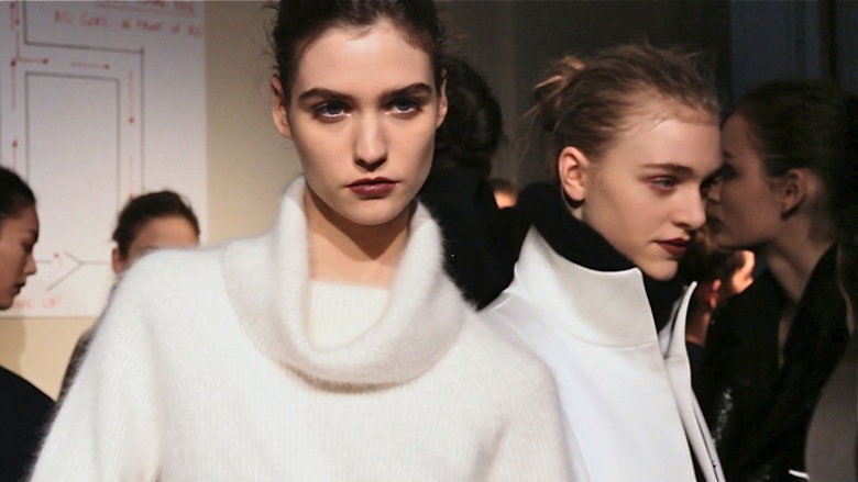 The Look of Anthony Vaccarello Fall 2013