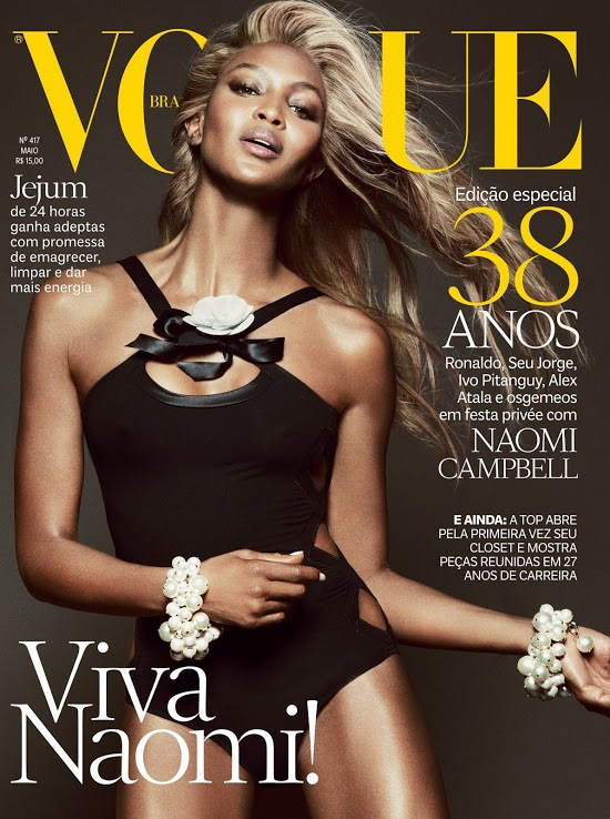 Naomi Campbell, Vogue Brazil May 2013