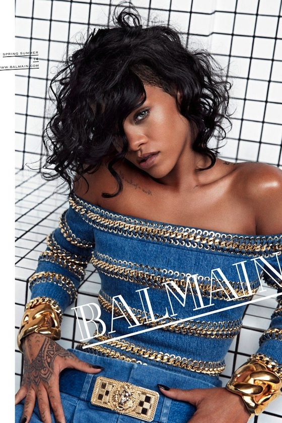 Rihanna for Balmain by Inez & Vinoodh