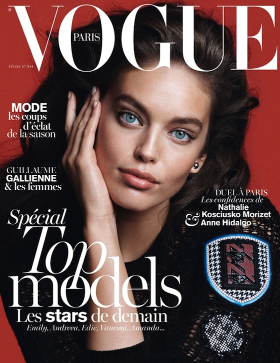 Emily DiDonato Covers Vogue Paris February 2014