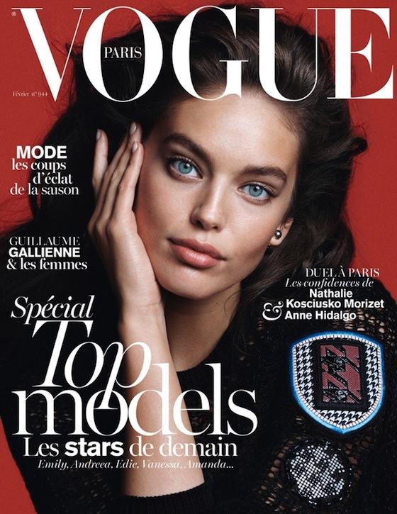 Emily DiDonato Covers Vogue Paris February 2014