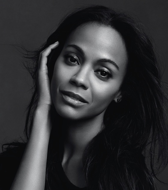 Zoe Saldana is the New Face of L'Oreal Paris