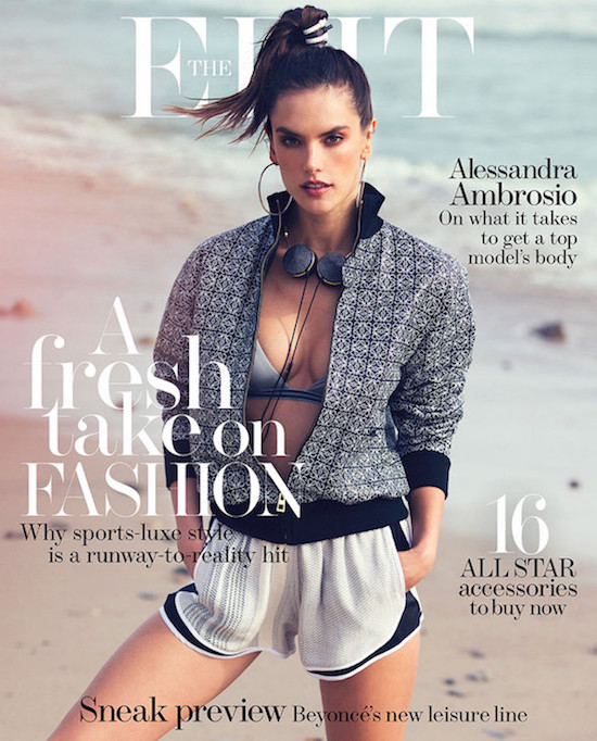 alessandra-ambrosio-Covers Net-A-Porter-The-Edit