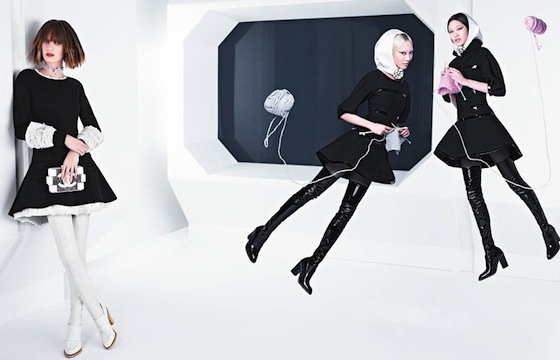 Chanel Fall 2013 Ad Campaign by Karl Lagerfeld