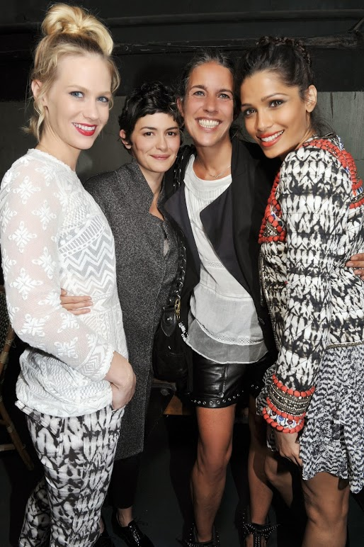 Isabel Marant for H&M Collection Party in Paris